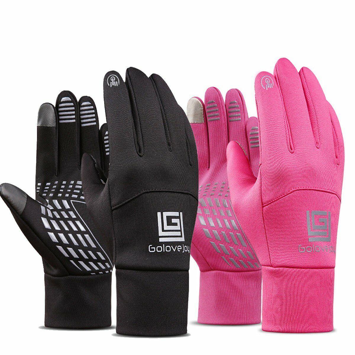 Sports Neoprene Windproof Touch Screen Thermal Gloves Mittens Winter Waterproof