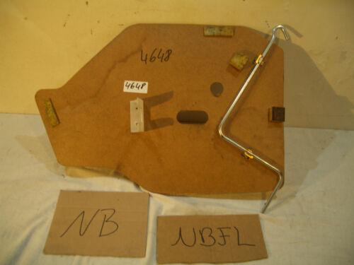 Mx5 MX 5 NB NBFL Tappetino Brett Tappetino copertura MANOVELLA carrello sollevatore 4648