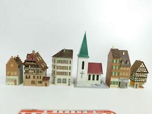 Bd773-2-5x-h0-Modele-eglise-Maison-Maison-de-ville-FALLER-Hoffmann-etc