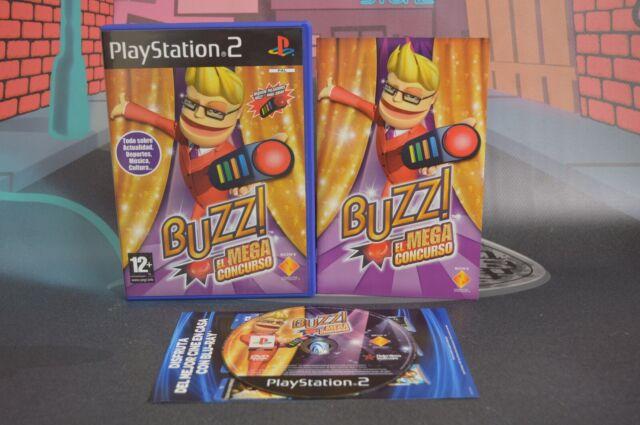 BUZZ! EL MEGA CONCURSO PAL ESP PLAYSTATION 2 PS2 COMBINED SHIPPING