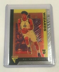 2019-2020-Panini-Chronicles-RUI-HACHIMURA-Flux-582-Rookie-Wizards-INVEST-RC