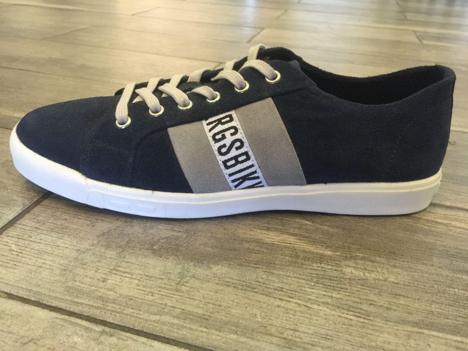 Scarpe casual da uomo  Dirk Bikkembergs uomos Shoes Trainers Sneakers Suede BKE107061 - New In Box