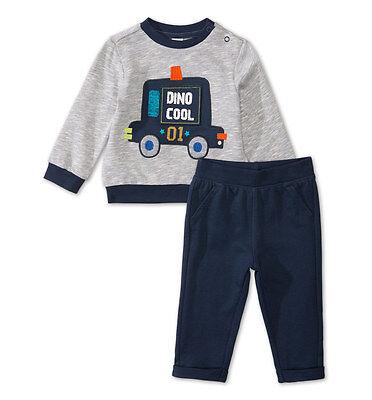 74 80 86 92 Baby Jungen Kinder Dino 2tlg TOP Set Sportanzug Jogginganzug Gr