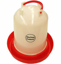 Medium Rite Farm Products Hd 16 Gallon Chicken Waterer Amp Handle Poultry Chick