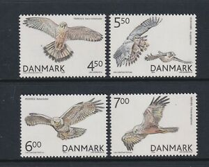 Denmark - 2004, Birds of Prey set - MNH - SG 1394/7
