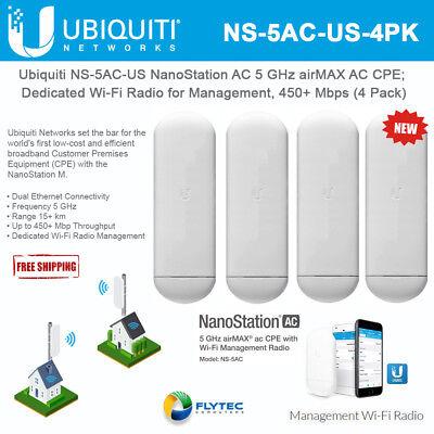 Ubiquiti NS-5AC-US NanoStation AC 5 GHz AC CPE