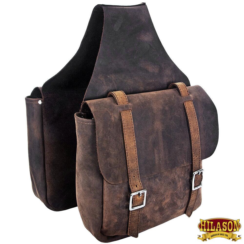 Leather cavallo Saddle borsaLeather Chap For Trail Hilason UG166