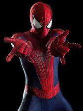 """Replica del costume di """" amazing spiderman 2 """" , stampa su lycra con effetto 3d"""