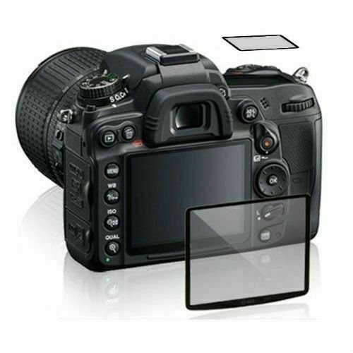 GGS Optical Glass LCD Screen Cover Protector for Nikon D500 with top screen