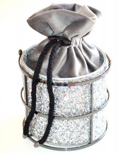 Mariage Сумка Gris Cérémonie Bag Sac A32 Clutch Pochette Argent Femme Élégant q1Zz4H8