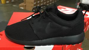 NIKE Roshe One Men's Running Shoes Black/Black 511881 026 Sz7-12 H