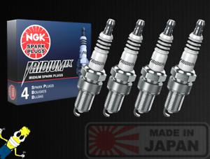 Set of 4 6747 BR8EIX Solid Iridium IX Spark Plug NGK