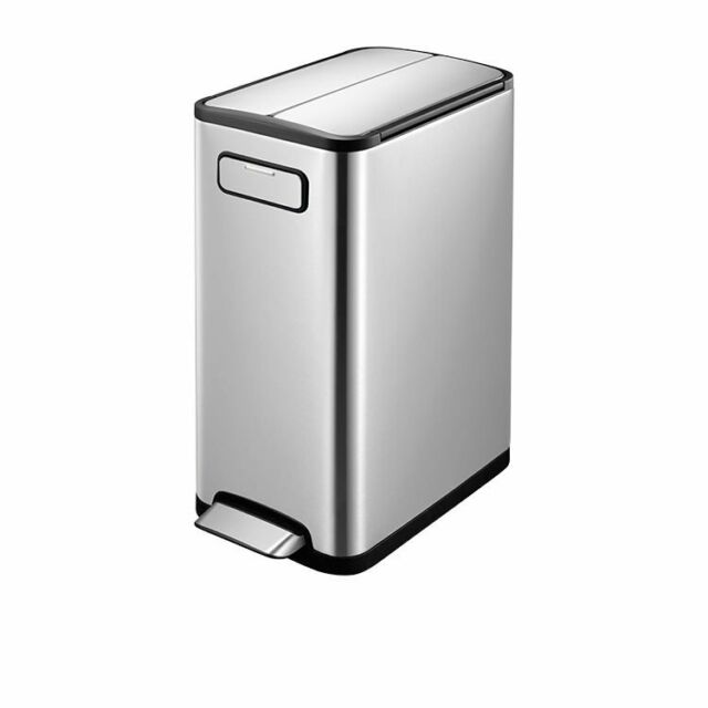 NEW EKO Ecofly Stainless Steel Step Can 30L (RRP $269)