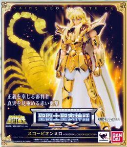 Saint-Seiya-Myth-Cloth-EX-SCORPIO-OCE-Original-Color-Bandai-Tamashii-Brown-Box