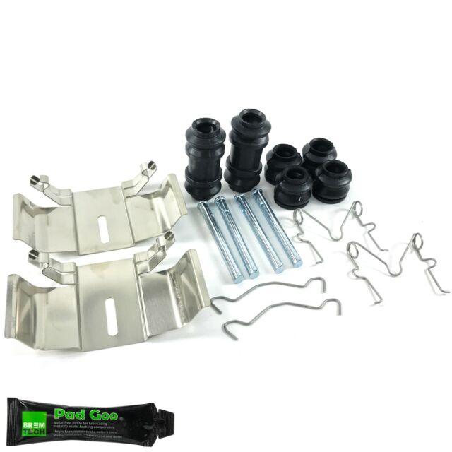 FRONT BRAKE PAD PINS /& CLIPS KIT FITS JAGUAR V12 E TYPE
