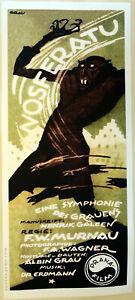 XL-HiQ-Facsimile-1922-Nosferatu-First-Movie-Poster-Czech-36-x-16-Dracula-Occult