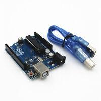 Neu UNO R3 Development Board ATmega328P für Arduino Compatible mit USB Kabel