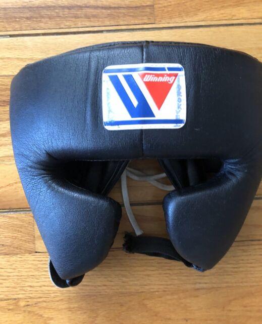 Face Guard Design New from Japan Winning Boxing Headgear FG-2900 Black