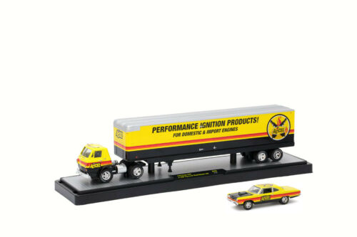 M2 Machines Auto Haulers! 1969 Dodge L600 /& 1969 Plymouth Road Runner 440