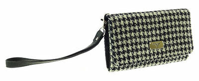 100% Lana Harris Tweed Phone Wallet / Frizione-lb2104col29 Arran-mostra Il Titolo Originale