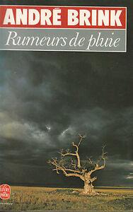 Livre-Poche-rumeurs-de-pluie-Andre-Brink-editions-roman-Stock-1979-book