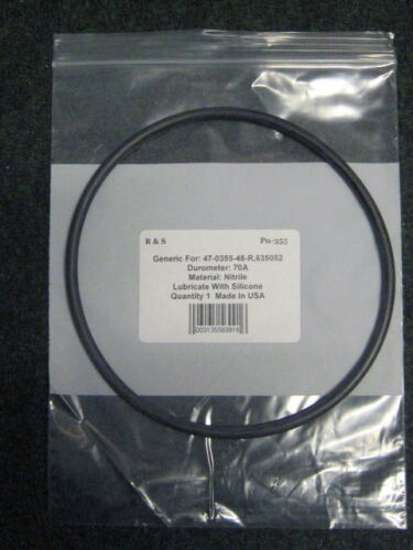 Waterco 635052 O-Ring SupaStream //Aquastream After 1999 Trap Lid O-Ring R/&S 355