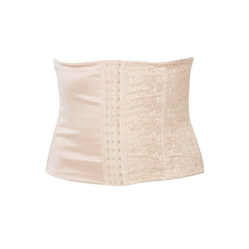 waist clincher shape wear tummy slimmer belly band corset nude black M-XXL
