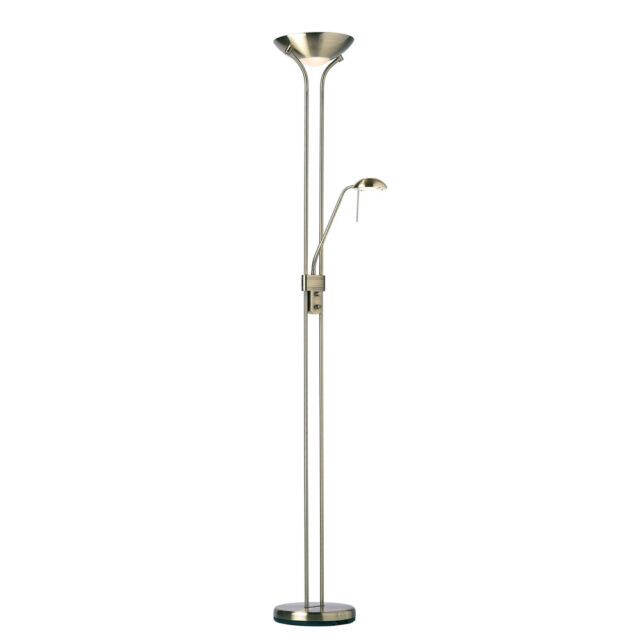 Endon lighting rome mother and child 181cm uplighter floor lamp in picture 2 of 2 aloadofball Image collections