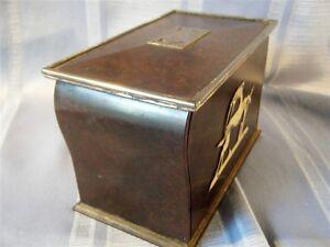 Image Is Loading Vintage Bakelite Cigarette Dispenser Box Art Deco Storage