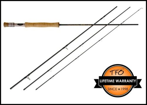"""Nouveau $320 Temple Fork Outfitters Impact TF07904I 9/' 0/"""" 7 poids 4 Piece Fly Rod"""