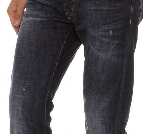 JEANS EDWIN HOMME ED 55 RELAXED TAPERED    (dark-Bleu dawn)  W30 L32 VAL 120€ 767528