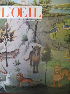 Magazine-Art-L-039-Oeil-No-72-Noel-1960-Secret-Hist-Natural-J-Mesagier-Home-Breuer