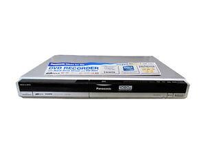 DVD-Player-von-Panasonic-DMR-EH67-in-Silber-ohne-Fernbedienung