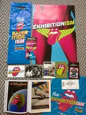 The Rolling Stones Exhibitionism Poster, Patch, Postcards, Flyer & Magazine