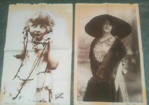 1910-LOTTO-MANIFESTI-PUBBLICITARI-ATELIER-NADAR-FOTOGRAFO-DI-PARIGI