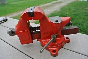 Columbian 43 Bench Vise Ebay
