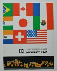 CATERPILLAR-Full-Line-1960s-dealer-brochure-catalog-English-USA