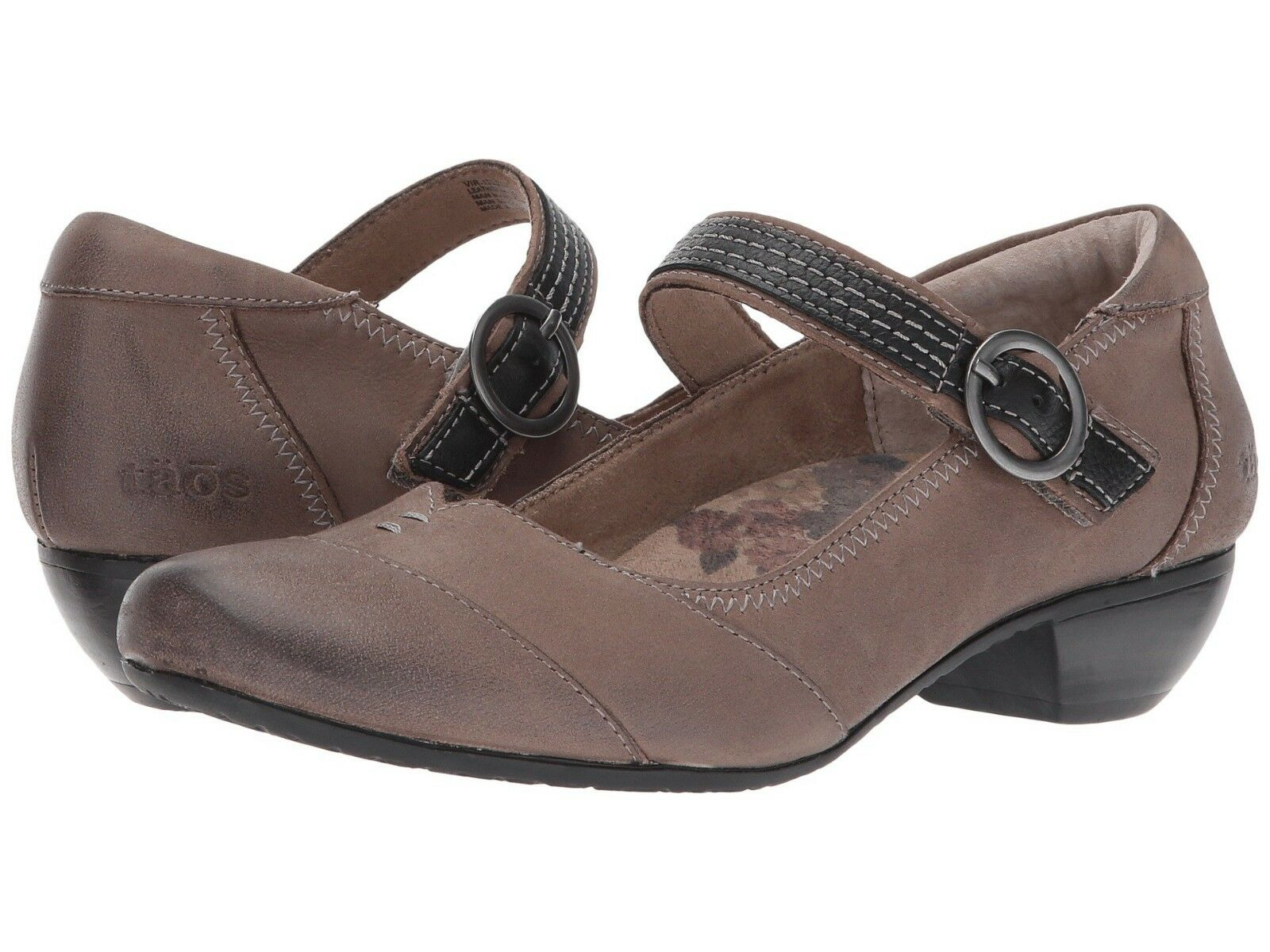 NEW Taos Womens Virtue Mary Jane, Taupe Taupe Taupe Oiled Leather Women Size 10,  130 39045d
