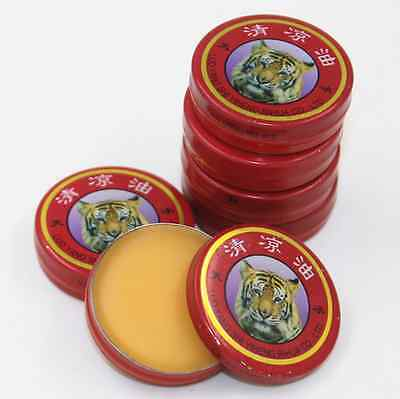 Free ship 3g QingLiangYou Essential Balm Temple Cool Mint Oil Of tiger Brand