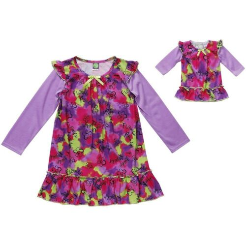 Dollie /& Me Girl 6-10 and Doll Matching Nightgown Pajama Clothes American Girls