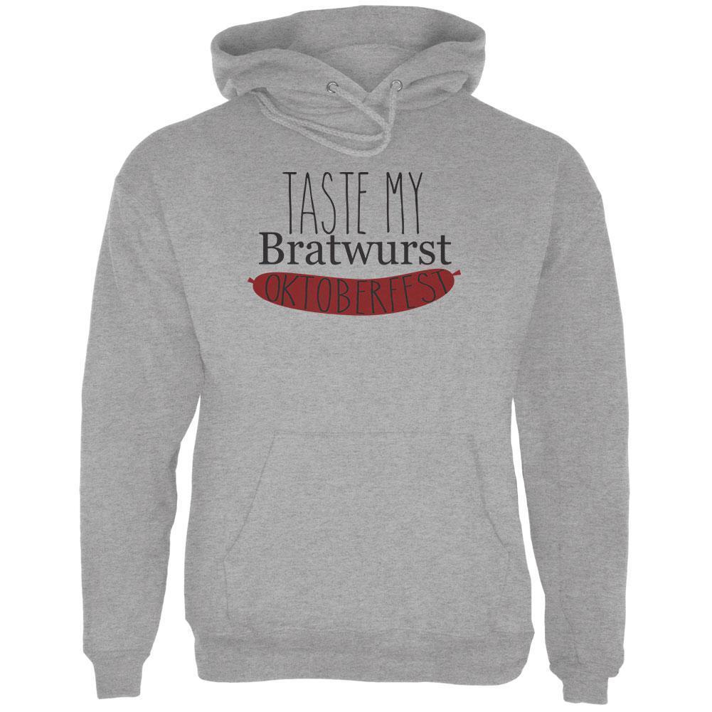 Oktoberfest Taste My Bratwurst German  Herren Hoodie