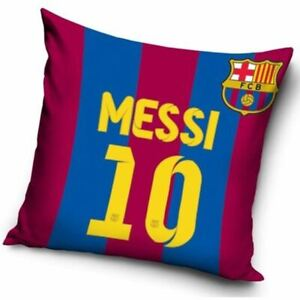 Fc-Barcelona-039-Lionel-Messi-039-Coussin-Rempli-40cm-x-40cm-Neuf-Football-Officiel