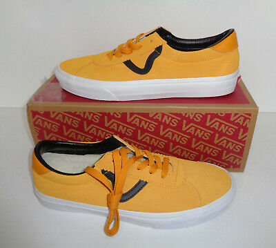 VANS Sport Mens Trainers Yellow Casual