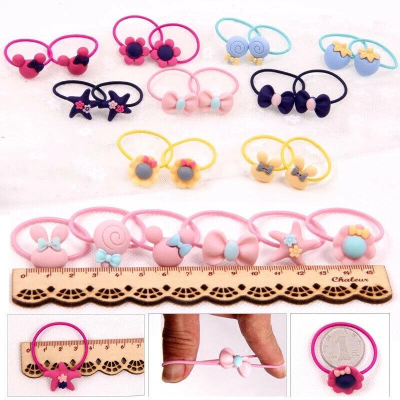 Colitas De Pelo Para Niñas Colas Moños Lazos Bows Hair clip Accessories Girls