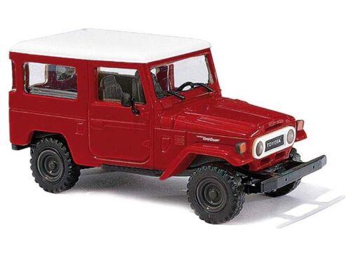 H0 1:87 rot Busch 43032 Toyota Land Cruiser J4