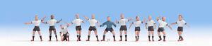 DéLicieux Encore 15965 H0 Personnages équipe De Football Allemagne-afficher Le Titre D'origine Excellente Qualité