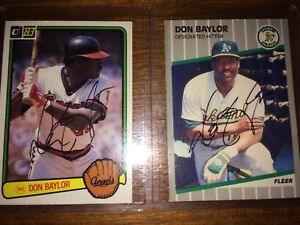 Original Don Baylor Signed Onl Baseball Angels Orioles Yankees 1979 Al Mvp Autographs-original Sports Mem, Cards & Fan Shop