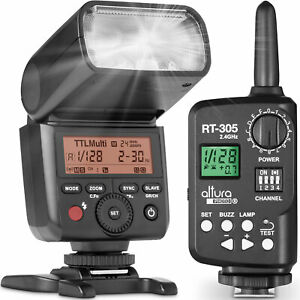 Altura-Foto-AP-305S-Flash-de-Camara-y-manual-de-inalambrico-disparador-para-Sony