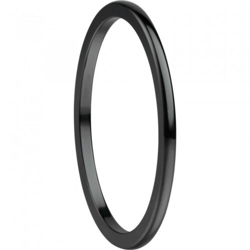 Bering Damen-Ring Innenring ultra schmal Arctic Symphony Keramik schwarz 564-60