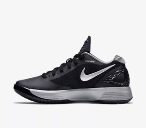 e0d2aee1cb75f3 Image is loading Nike-Women-s-Volley-Zoom-Hyperspike-Black-Volleyball-